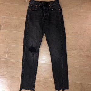 Levi's 501 skinny denim jeans